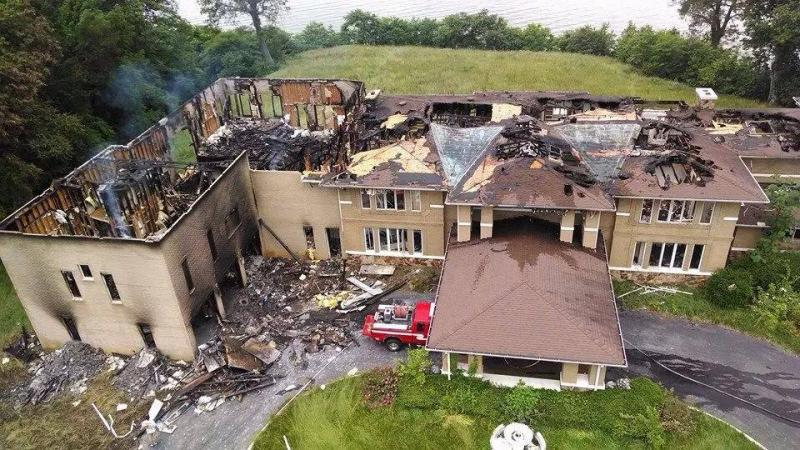 Arson in Potomac Heights