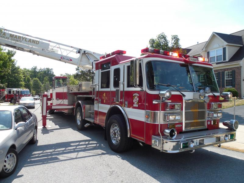 House Fire 10875 Alyssa Lane